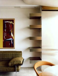 Great shelving concept!