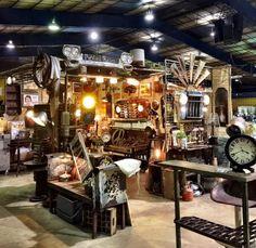 Trends Vintage Marketplace & Co. - 161 Locust St, Redding, CA California Travel, Northern California, Redding California, Sacramento Valley, Vintage Marketplace, Antique Stores, Architecture, Antiques, Shops