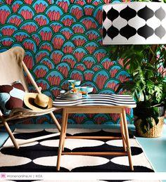 Bonte, kleurige patronen en Scandinavisch minimalisme: IKEA combineert het beste van twee werelden in de limited collectie TILLFÄLLE. Laat je inspireren door de eenvoud van Zweden en het speelse van Brazilië.