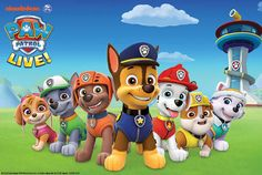 PAW Patrol is on a roll with the first-ever live tour, stopping at Richmond's Altria Theater on January 11, 2017 for two shows.