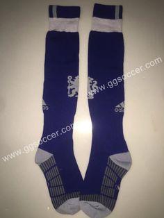 2016/17 Chelsea Away Dark Blue Soccer  Socks  With LOGO