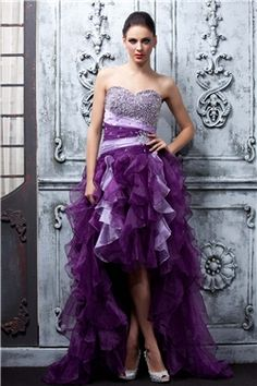 A Line Asymmetry Sweetheart Polinas Cocktail Homecoming Dress