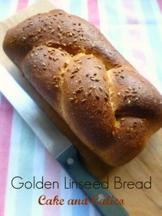 Golden Linseed Bread