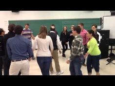 """Our final class in Elementary Methods for 2014! As a final musical moment, we learned this Contradance the """"Grumpy March."""" This was our first experience with..."""