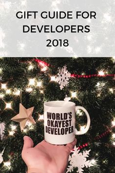 The holidays are right around the corner, and you are in need of an awesome gift for that developer in your life. Here are some great choices. Gifts For Programmers, Around The Corner, Web Development, Gift Guide, Choices, Best Gifts, Coding, Holidays, Christmas Ornaments