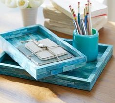 Add a pop of color to your desk situation