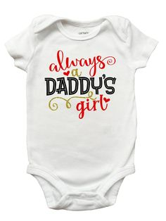 Baby Clothes Racing Motorsports Horse Daddy One-Piece Vests Boys Girls Gifts