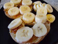 Banana wholewheat bagels
