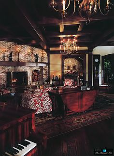 Living Room - Michael Jacksons Neverland Valley Ranch - 5225 Figueroa Mountain Road, Los Olivos, CA