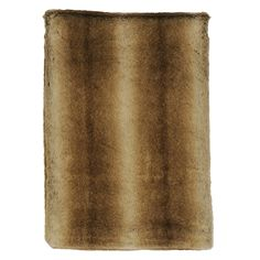 Rain Faux Fur Throw by Wooded River - WD654