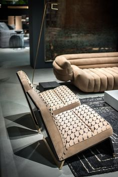 - For the 2016 Imm Cologne Fair, Baxter presents the result of a constant attention towards research, where architecture, furniture an Baxter Furniture, Funny Furniture, Living Furniture, Upholstered Furniture, Furniture Design, Furniture Inspiration, Interior Inspiration, Poltrona Design, Rustic Home Interiors