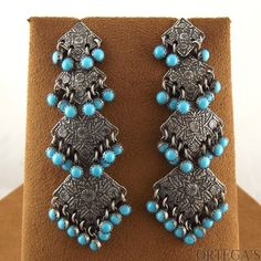 Cascading Cleopatra Earrings by Emory