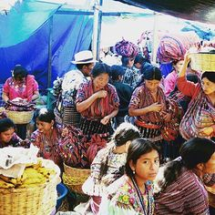Set overlooking Lake Atitlan, Solola's Friday market is one of Central America's finest, attracting crowds of traditionally dressed Mayans from all over the highlands. Lake Atitlan, Tikal, Cultural Experience, Highlands, Central America, Traditional Outfits, Travel Photography, Wanderlust, Friday