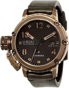 U-Boat Men's 7236 Chimera Bronzo Watch. SOMEDAY, to appreciate my heartwork :)