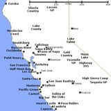 Northern California Map: Places to Visit