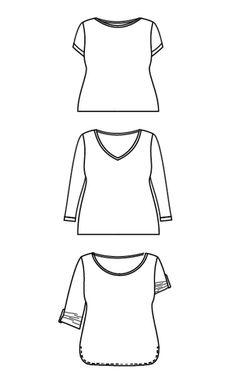 Cashmerette Patterns Concord T-Shirt
