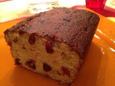 Zitronen-Cranberry Kuchen ohne Zucker und Mehl