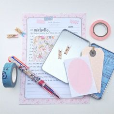 Dear Michelle | Sincerely, E. 219th PL #snailmail #happymail #stationery #mail #paper #letter
