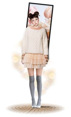 """""""32. Pastel Doll"""" by georginamaybrown ❤ liked on Polyvore featuring Chanel, pastel, dolls, pastels and dollschallenge"""