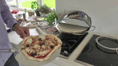 A short video showing how to prepare and cook a fresh authentic pizza using the Chadwick Oven. Sculpt the perfect pizza! Crispy Pizza, Clever Inventions, Oven Canning, Perfect Pizza, Wood Fired Oven, Fresh, Cooking, Breakfast, Ethnic Recipes
