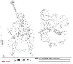 LoliRock: Iris Transformation Character Sheet