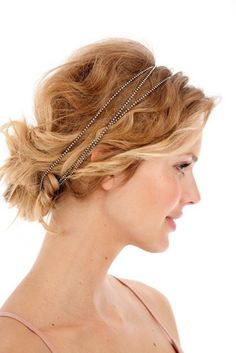 1 Trend 4 Ways: Chained-Up Hair (Can Be Dressy or Casual—Really!): Girls in the Beauty Department