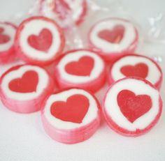 Gastgeschenk Hochzeit  Bonbons Rock Sweets Herzen - 500g
