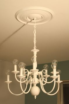 Chandelier redo i think i might do this to that chandelier from conquering the brass monster haha this is awesome aloadofball