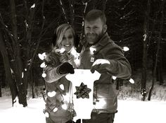 Our Christmas pregnancy announcement #kauffingham