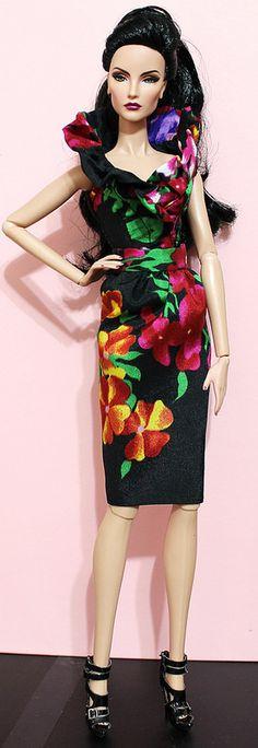 Fashion royalty Elise workshop doll