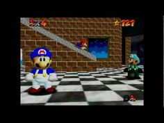 super mario 64 bloopers: HALL 9000 - YouTube