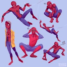 Peter Parker by @koumorins