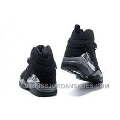 a6ce0fe17a4 Nike Air Jordan 8 VIII Homme Noir Blanc