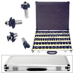 80pc-1-2-034-Shank-Tungsten-Carbide-Router-Bit-Set-2-Blades-3-Blade-Woodworking