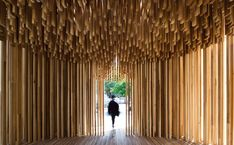 "David Adjaye examines the contemporary monument in upcoming ""Making Memory"" exhibition at Design Museum London Design Museum London, London Design Festival, Patricia Urquiola, David Adjaye, Timber Slats, Pavilion Architecture, Pavilion Design, Public Architecture, Modern Architecture"