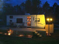 Seasonal Camping | possible deck idea