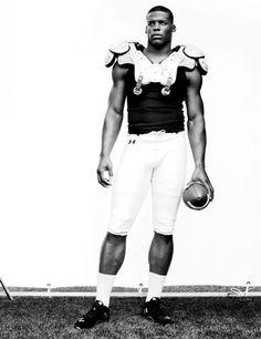 Cam Newton, NFL quarterback for the Carolina Panthers.
