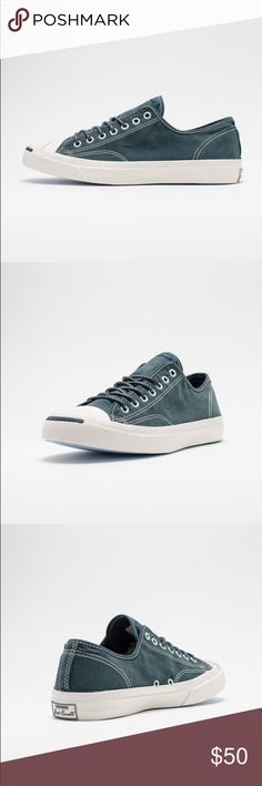 📍1 HOUR SALE! Converse Mens Jack Purcell blue Brand new without box Converse Shoes Sneakers