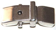 cierre dos partes, paso 8x2mm, zamak baño de plata. http://nellass.com/categories/CUENTAS-Y-ABALORIOS/ZAMAK/cierres/