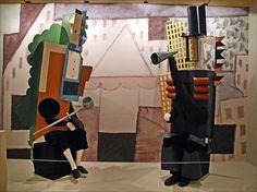 Costumes du ballet Parade (Les Ballets Russes, Opéra), D'après Pablo Picasso (1917)