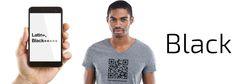 The QR Code T-Shirt for #GayBlackMen & Their Admirers #NewGayCode