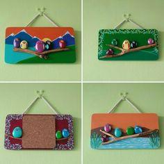 Pebbles art painting