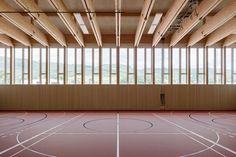 Menzi Bürgler Architekten, Beat Bühler · New sports hall