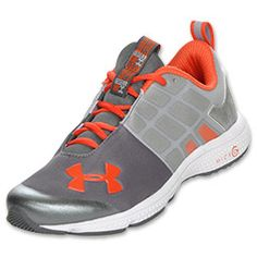 """Under Armour's Micro G Technology that """"transforms cushioned landings into explosive takeoffs."""" The UA Micro G Silencer is made sleek for better performance and custom fit. The Under Armour ColdGear construction upper fits against your skin as if it were a second layer while using its technology to work against the temperature. Micro G foam cushioning provides a light and responsive feel."""