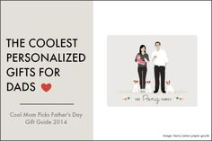 Cool personalized gifts for dads: Cool Mom Picks Father's Day Gift Guide 2014