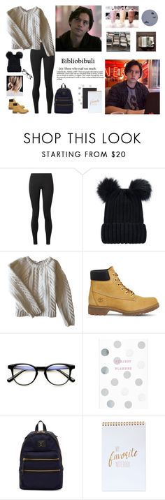 """""""Jughead Jones - Bibliobibuli"""" by mia-justine ❤ liked on Polyvore featuring The Row, Anine Bing, Timberland and Marc Jacobs"""