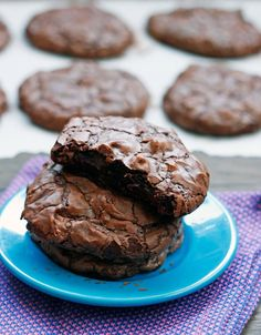 Chocolate Truffle Cookies #chocolates #sweet #yummy #delicious #food #chocolaterecipes #choco