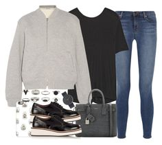 """""""Untitled #3243"""" by hellomissapple on Polyvore featuring J Brand, T By Alexander Wang, Casetify, Yves Saint Laurent, Givenchy and Uniform Wares"""