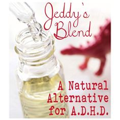 A Natural Alternative for ADHD, ADD, Anxiety and more. Read the Testimonials.
