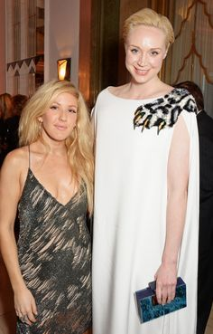 Pin for Later: Is Anyone Not Friends With Ellie Goulding? Ellie Goulding With Gwendoline Christie